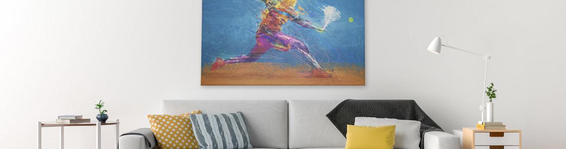 Por que decorar o ambiente com quadros e telas decorativas?