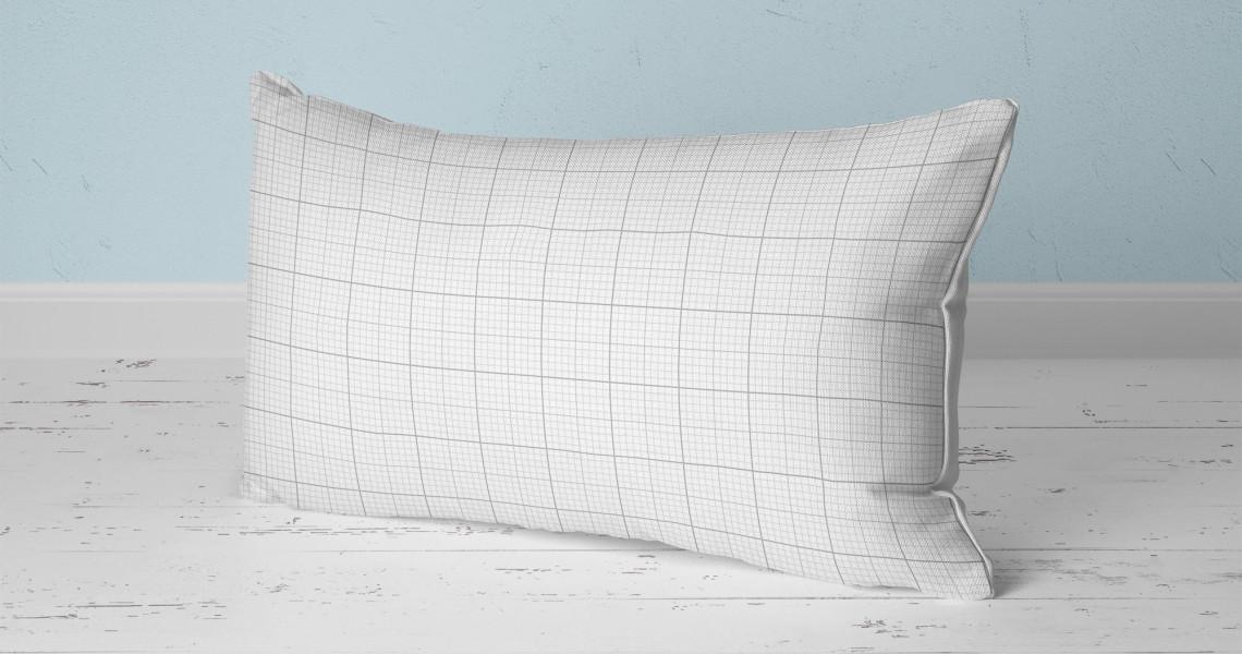 Almofadas retangulares